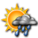 Partly Cloudy with Scattered Showers